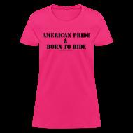 Women's T-Shirts ~ Women's T-Shirt ~ Men American Pride Tee