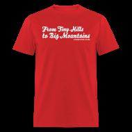 T-Shirts ~ Men's T-Shirt ~ Mens Hills to Mountains