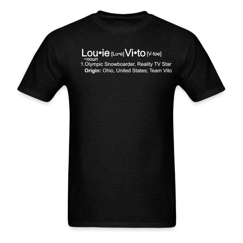 Wikipedia-Who is Louie Vito! - Men's T-Shirt