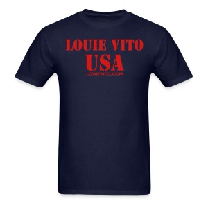 Mens LV USA tee - Men's T-Shirt