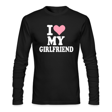 Black Girlfriend Long Sleeve Shirts