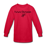 Kids' Shirts ~ Kids' Long Sleeve T-Shirt ~ Kids Future  n Long Sleeve
