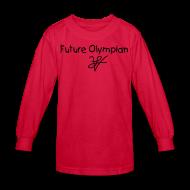 Kids' Shirts ~ Kids' Long Sleeve T-Shirt ~ Kids Future  n Long Sleeve