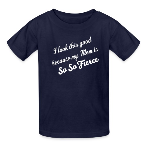 Child (Boy) So So Fierce - Kids' T-Shirt
