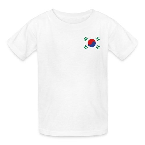 Korean Flag Children's T-Shirt  - Kids' T-Shirt