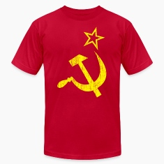Red ussraged T-Shirts