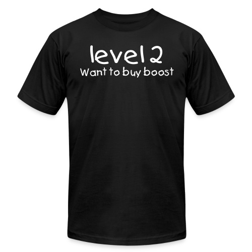 Level 2 with boost - Men's Fine Jersey T-Shirt