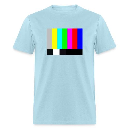 Big Bang Theory T-Shirt TV COLOR BARS T-Shirt Sheldon  - Men's T-Shirt