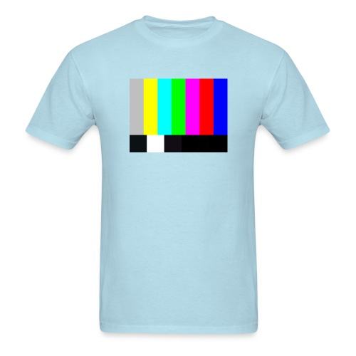 Big Bang Theory T-Shirt TV COLOR BARS T-Shirt Sheldon  - Men's T-Shirt