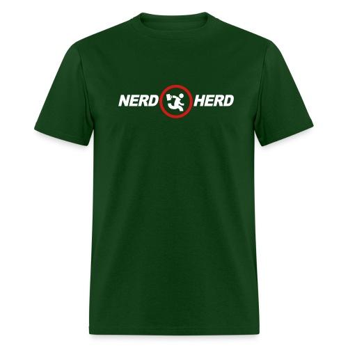 NERD HERD CHUCK T-Shirt - Men's T-Shirt