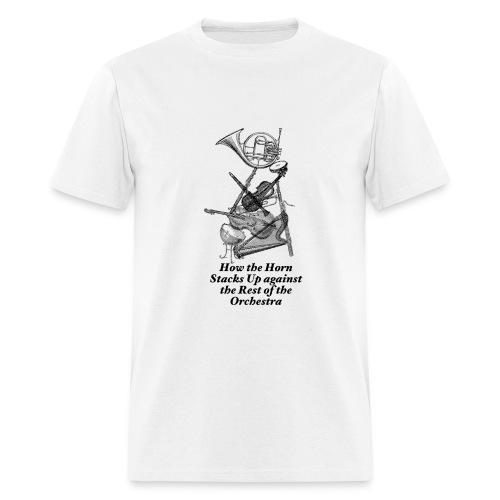 Horn Stacks - Men's T-Shirt