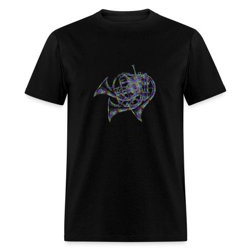 Horn Illusion - Men's T-Shirt