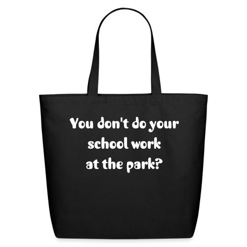 School at park - Eco-Friendly Cotton Tote