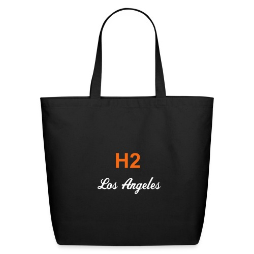 H2 Los Angeles Eco-Friendly Cotton Tote - Eco-Friendly Cotton Tote