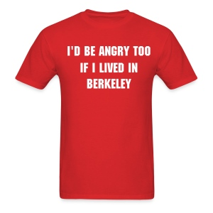 Angry Berkeley - Men's - Men's T-Shirt