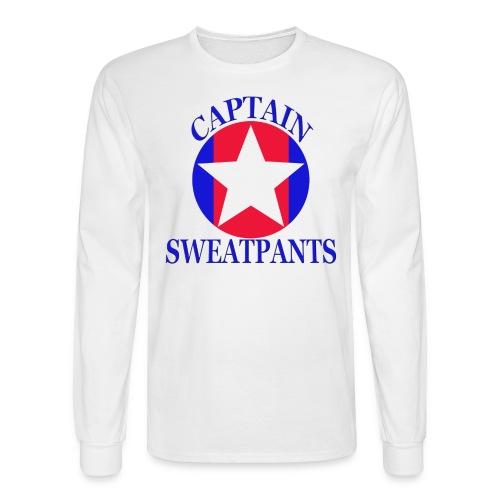 Captain Sweatpants - Men's Long Sleeve T-Shirt