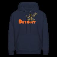 Hoodies ~ Men's Hoodie ~ Spirit of Detroit Men's Hooded Sweatshirt