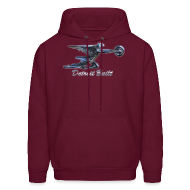 Hoodies ~ Men's Hoodie ~ Detroit Built Packard Hood Ornament Men's Hooded Sweatshirt