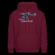 Hoodies ~ Men's Hoodie ~ Detroit Built Packard Hood Ornament Men's Hooded Sweatshirt