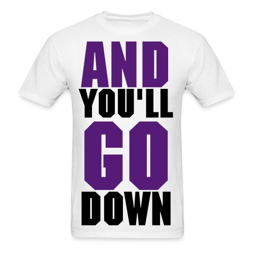 *NEW* Purple and Black The End of it All Tee - Men's T-Shirt