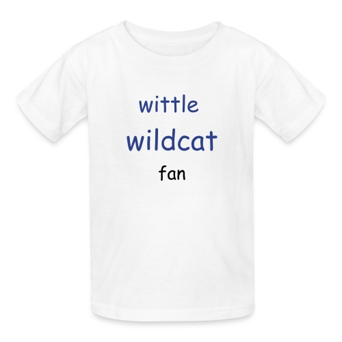 wittle toddler wildcat fan - Kids' T-Shirt