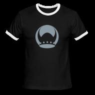 T-Shirts ~ Men's Ringer T-Shirt ~ Valhalla Black/Silver Ringer T-Shirt