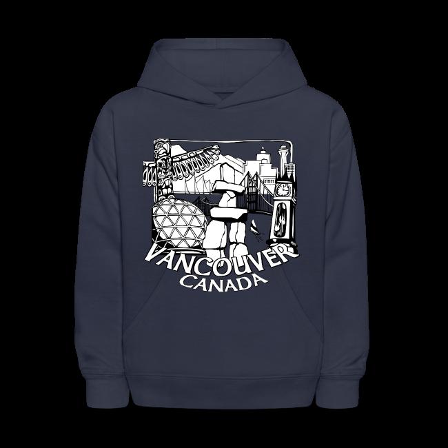 Vancouver Hoodie Kid's Vancouver Canada Souvenir