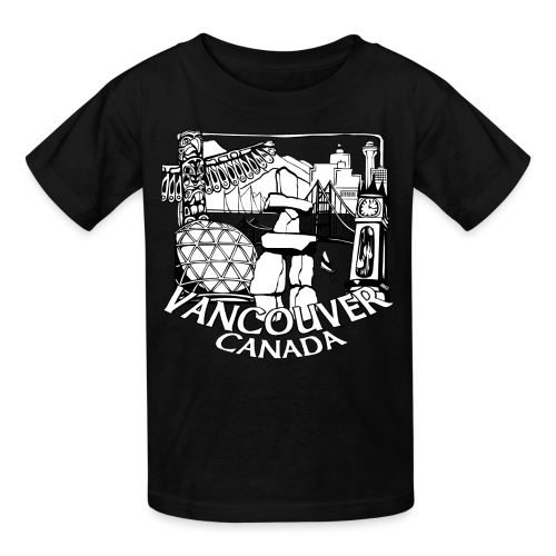 Vancouver T-shirt Kid's Vancouver Canada Shirt - Kids' T-Shirt