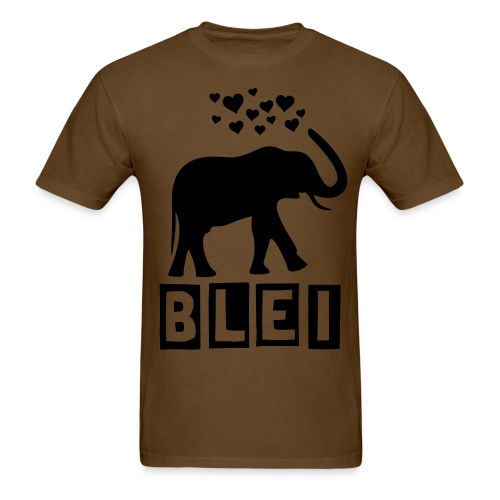 Elephant Hearts - Men's T-Shirt