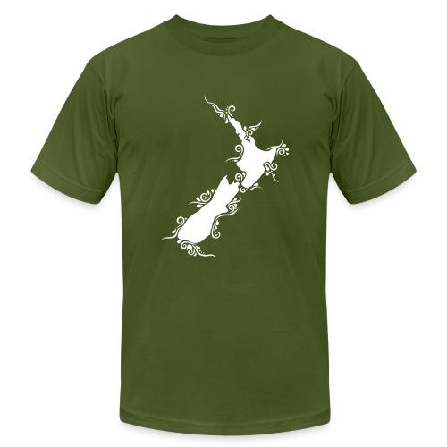 Men's Aotearoa/New Zealand Slimfit Tee - Men's Fine Jersey T-Shirt