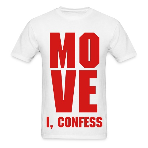 *NEW* Red MOVE Tee - Men's T-Shirt