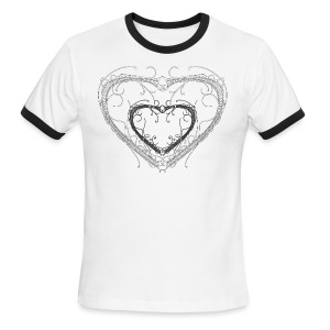 Fenestrated Hearts - Men's Ringer T-Shirt
