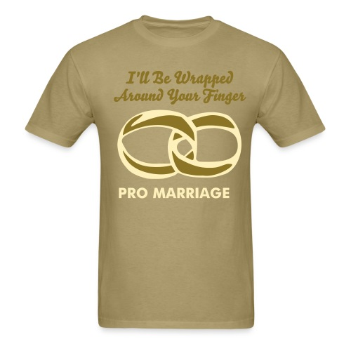 I'll Be Wrapped Around Your Finger - Men's T-Shirt