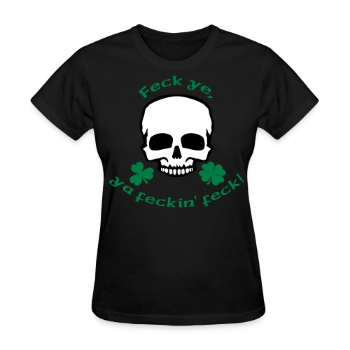 Irish Attitude - Women's T-Shirt