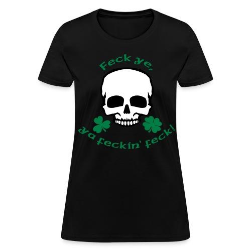 Irish Attitude - Women's T-Shirt