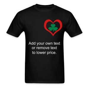 Irish Heart - Men's T-Shirt