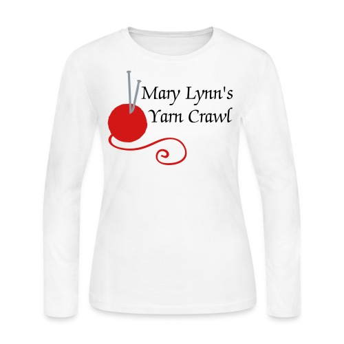 Yarn Crawl (women's long sleeved T) - Women's Long Sleeve Jersey T-Shirt