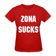Women's T-Shirts ~ Women's T-Shirt ~ Zona Sucks - Women's