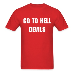 Go To Hell - Men's - Men's T-Shirt