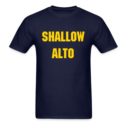 Shallow Alto - Men's - Men's T-Shirt