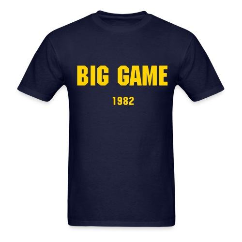 Big Game 1982 - Men's - Men's T-Shirt