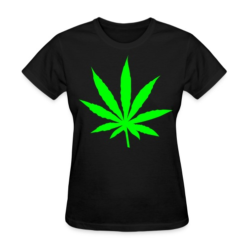 I Believe In Ganja - Women's Standard Weight T-Shirt - Women's T-Shirt