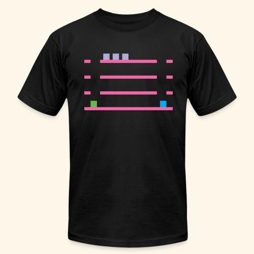 LowRez2 - Men's Fine Jersey T-Shirt