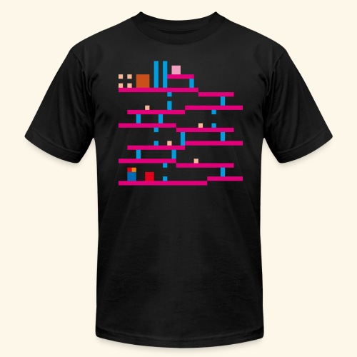 LowRez3 - Men's Fine Jersey T-Shirt