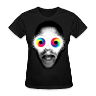 T-Shirts ~ Women's T-Shirt ~ PSYCHEDELIC EYES
