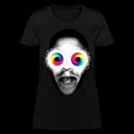Women's T-Shirts ~ Women's T-Shirt ~ PSYCHEDELIC EYES