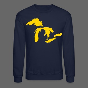 Just Michigan Men's Crewneck Sweatshirt (not glow in dark) - Crewneck Sweatshirt