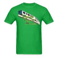 T-Shirts ~ Men's T-Shirt ~ Detroit People Mover Men's Standard Weight T-Shirt