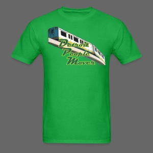 Detroit People Mover Men's Standard Weight T-Shirt - Men's T-Shirt