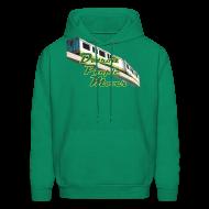 Hoodies ~ Men's Hoodie ~ Detroit People Mover Men's Hooded Sweatshirt